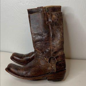 Bed Stu cobbler series harness boots